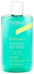 Мягкий очищающий гель  Noreva Exfoliac Gentle Foaming Gel
