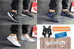 Мужские кроссовки Найк Nike Free Run 5. 0, черные, белые, р. 41-46, SF7672-4