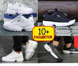 Более 10 расцветок - мужские кроссовки Fila Disruptor Фила Дисраптор 2