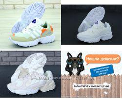 Кроссовки Адидас Янг Adidas UNG, ТОП качество, женские, белые, р. 36-40
