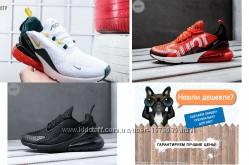 LUX качество, Найк Аир Макс 270 Nike Air Max, кроссовки мужские, р. 41-45