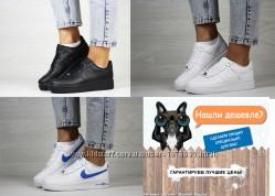 Nike Air Force Найк легкие женские кроссовки демисезонки, 36-41, SF8375-77