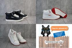 Кожаные Пума Puma зимние женские ботинки, р. 36-41, OFOnward Pum