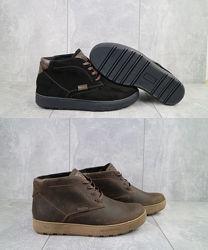 Clarks Кларкс, ботинки зимние мужские, замша, кожа, р. 40-45, OFYuves 777