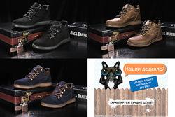 Кларкс Clarks модные кожаные зимние мужские ботинки, р. 40-45, OFYuves 600
