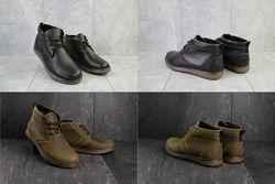 Модные ботинки Clarks Кларкс мужские зимние, р. 40-45, OFYuves 801