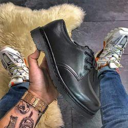 LUX качество. Мужские туфли Dr Martens Доктор Мартинс, мужские, 41-45, CDF