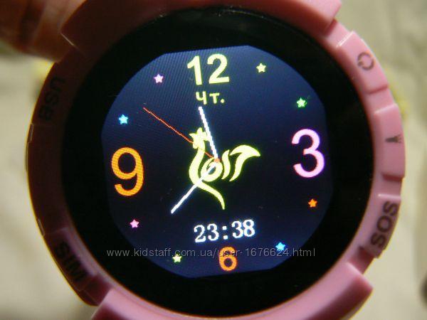 Часы  с определением места нахождения GPS и фото.