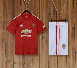 Детская футбольная форма Манчестер Юнайтед 20-21 домашняя купить в Украине