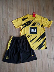 Детская футбольная форма Боруссия Дортмунд 20-21 домашняя купить в Украине
