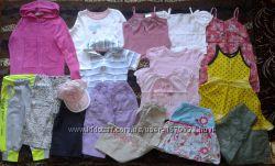 Одежда летняя для девочки 4-5 лет рост 104-110 см