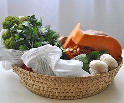 Набір еко мішечків торбинки для фруктів фруктовки ЭКО мешочки для овощей