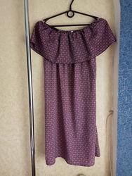 Платье с открытыми плечами. Новое