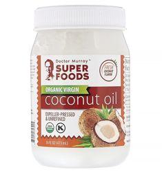Акция Dr. Murray&acutes, Органическое кокосовое масло первого отжима, ориги