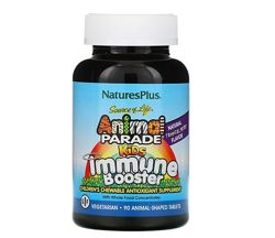 Natures Plus, Animal Parade, Immune Booster, детские витамины, оригинал