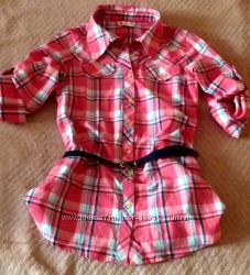 Рубашка на девочку 9-12лет