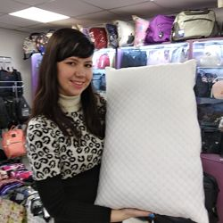Подушка Soft collection 50 x 70 см на молнии