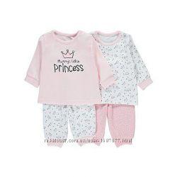 Пижама для девочки George 2 штуки