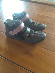 Деми ботинки Bartek натуральная кожа, р 35 идеальное состояние