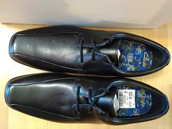 Акция Туфли школьные Clarks Hoxton Размер 35,5 Натуральная кожа