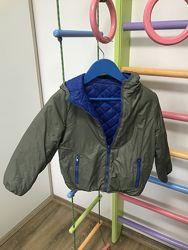 Двухсторонняя демисезонная куртка chicco 128