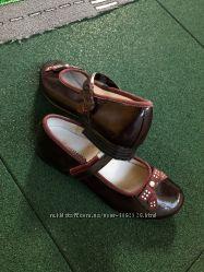 Туфли лаковые кожа 34р. 22, 5см
