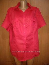 Крутая хлопковая рубашка хлопок Пог 63 см большой размер