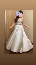 Платье выпускное-свадебное