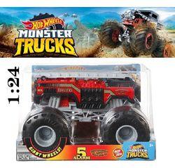 Hot Wheels Monster Truck 5 Alarm 2 1vs24 Пожежна Хот вілc GBV34