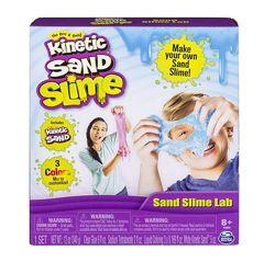 Kinetic Sand Sand Slime Lab Spin Master Експеримент Кинетичний пісок