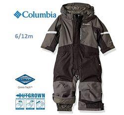 Columbia Buga II Black Grill 6-12міс Комбінезон Коламбія Зимний костюм