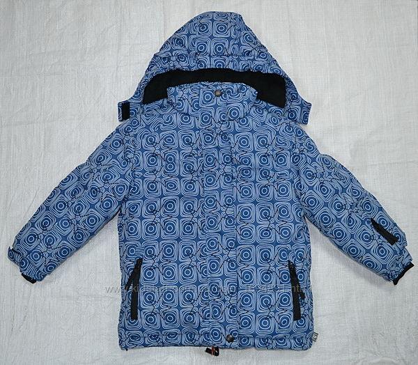 Зимняя куртка для девочки розовая/синяя Quadrifoglio, Польша