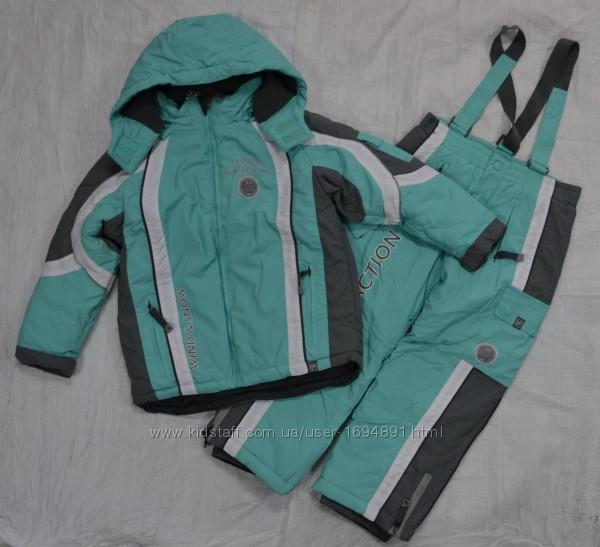 Зимний термокомплект куртка и штаны р. 110-146 см QuadriFoglio, Польша