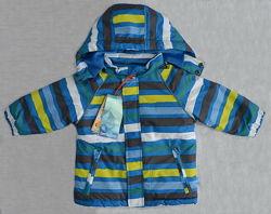 Зимняя детская куртка Loustic голубая/салатовая QuadriFoglio, Польша