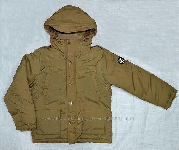 Зимняя куртка для мальчика Mariuzs серая и бежевая QuadriFoglio, Польша