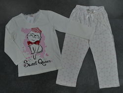Качественные турецкие детские пижамы для девочек Sevim, Турция