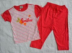 Качественная летняя детская пижама Smiles р.86-140 см OZTAS, Турция