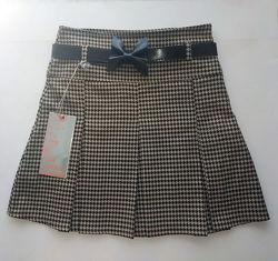Детская юбка в складку 2 расцветки Incity, Турция