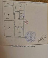 Продам 3-х ком. квартиру в Ладыжине, Винницкой области в жилом состоянии