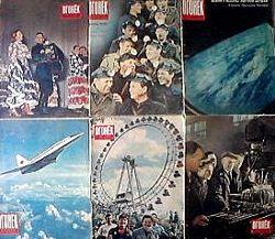 журнал Огонек с 1956г. по 1995г.