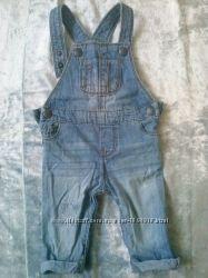 Напівкомбінезон джинсовий F&F 3-6м