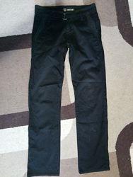 Штаны, джинсы черные коттон