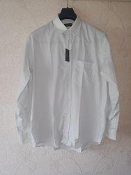 Мужская рубашка, stiro facile, рубашка, чоловіча сорочка италия 42 50-52