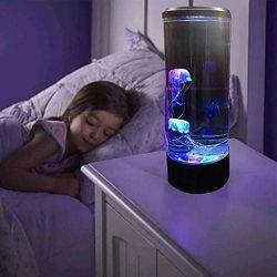 Ночник светодиодный Аквариум с медузами