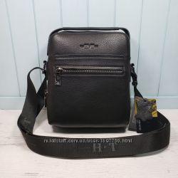 f92ea3cd3e9a Мужская кожаная сумка H. T Leather на два отделения чоловіча шкіряна сумка