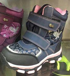Зимние ботинки сапоги для девочки Том. М 27,29, 30, 31