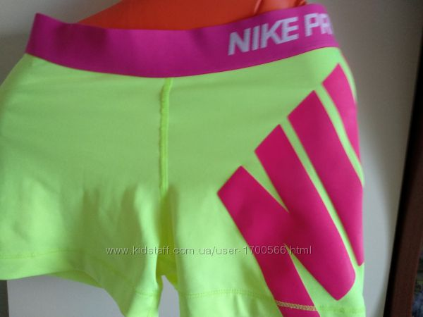 Спортивные женские  шорты nike pro dri-fit original  р. м