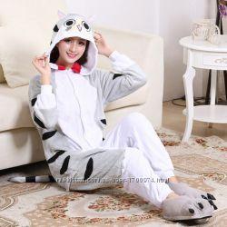 Кигуруми пижама котёнок кот чи