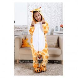 Костюм кигуруми пижама жираф