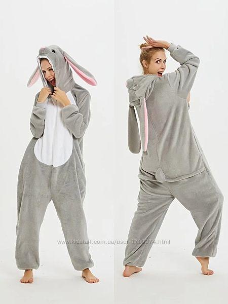 Кигуруми серый кролик